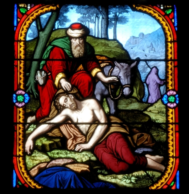 good-samaritan-stain glass