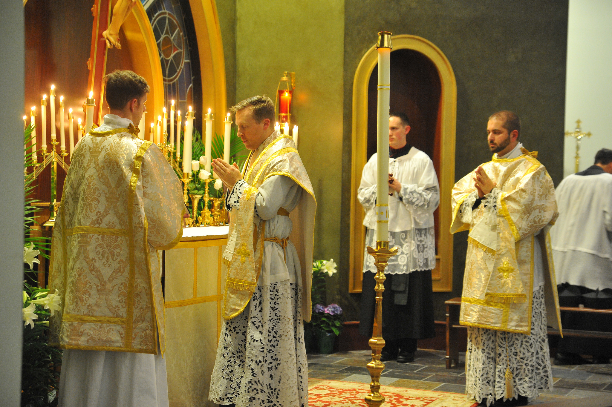 Photopost: Traditional Triduum Celebrated in Charlotte